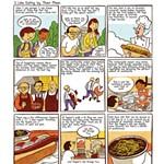 Comic Strip: I Like Eating