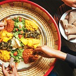 The Curious History of the Eritrean and Ethiopian Veggie Combo