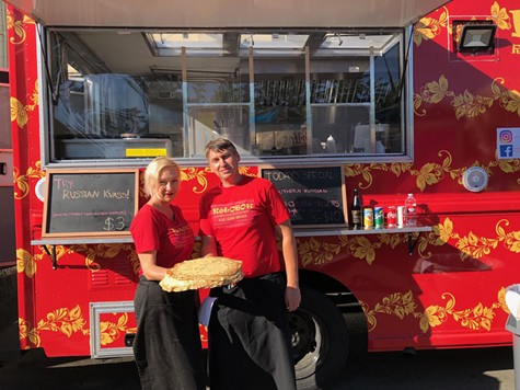 Meet Kolobok, a Russian Food Truck and Mobile Restaurant