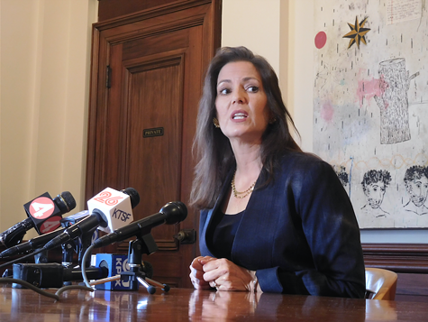 Oakland Mayor Libby Schaaf tussles again with President Trump.