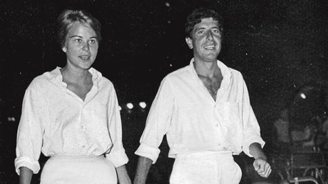 Marianne Ihlen and Leonard Cohen on Hydra.