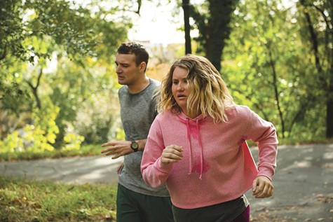 Jillian Bell and Micah Stock break a sweat in Brittany Runs a Marathon.
