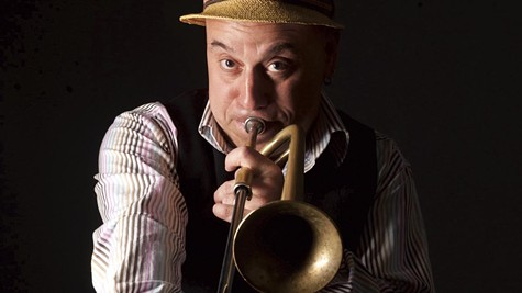 Bernstein is the leading practitioner of the slide trumpet.