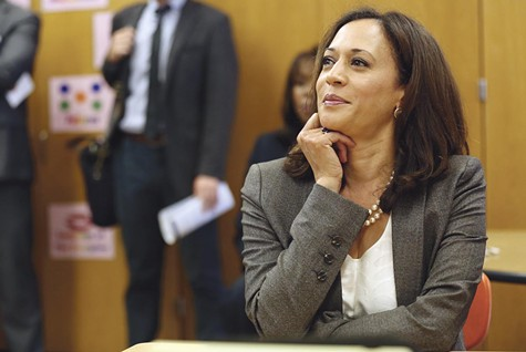 Harris ran to the right of former District Attorney Terence Hallinan and tacked to the center as attorney general, but now is veering to the left as a presidential candidate.