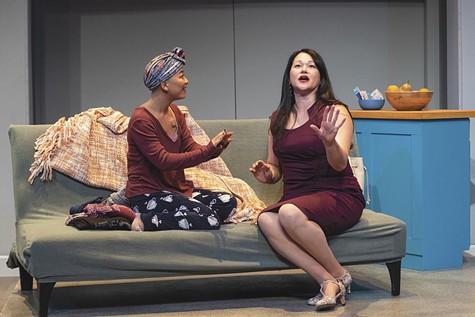 Sango Tajima as Ramona, and Karen Offereins as June.