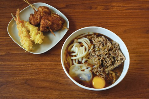 Marugame knows its noodles, which are thick and chewy.