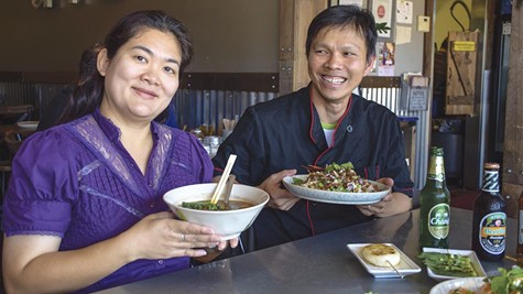 Ann and chef Paul Chan of Larb Thai Food & Tapas have a deal on offer.