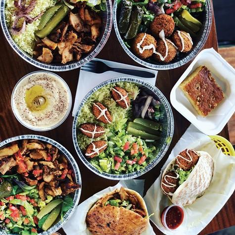Shawarma, falafel, and more from Halalicious.