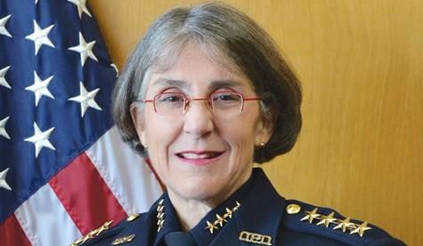 Oakland Police Chief Anne Kirkpatrock was shown the door by her patron, Mayor Libby Schaaf.