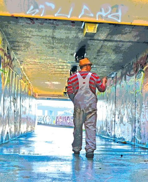 The boom of graffiti in Oakland didn't happen overnight, Erase said.