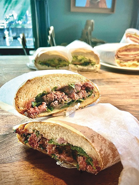 THE HUMBLE SANDWICH: Homestead branches out.