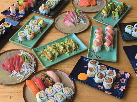 SUSHI TO GO: Itani's plans to open as a separate restaurant have been shelved for now.
