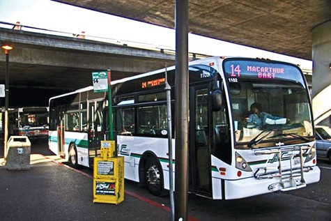 STOP: AC Transit is losing $5 million in lost fare revenue each month during the pandemic, officials said.