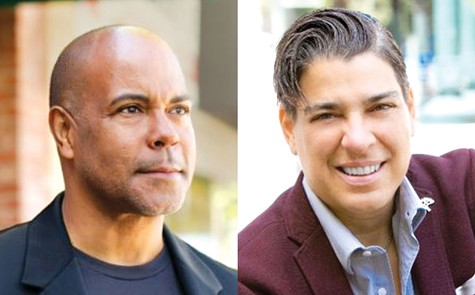 OAKLAND AT-LARGE CITY COUNCIL CANDIDATES: Challenger Derreck Johnson and incumbent Council-member Rebecca Kaplan