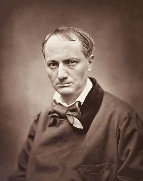 STOCKED: Poet Charles Baudelaire by Etienne Carjat.