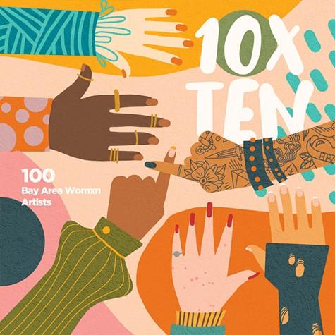 10xTEN Artshow Flier