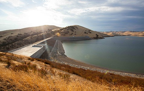 """Proponents contend that dam-building will create """"a new era of abundance."""" But critics argue that dams, such as Los Vaqueros in Contra Costa County, are environmentally destructive and too expensive."""