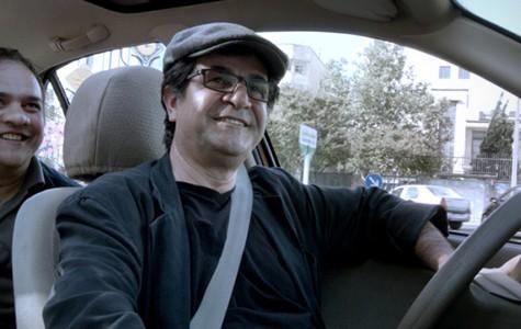 Jafar Panahi in Taxi.