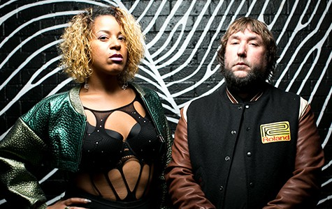 Janaysa Lambert (left) and Jason Stinnett recently dropped their debut single as Hi Scores.