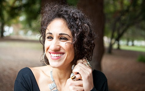 Oakland vocalist Naima Shalhoub recorded her powerful debut album live inside San Francisco County Jail.