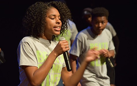 Malkia Chionesu participated in the academy program of Beats Rhymes and Life, a nonprofit that uses hip-hop therapy to engage Oakland youth.