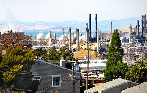 Chevron Richmond refinery.
