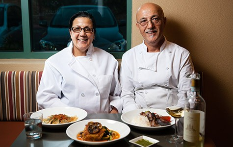 Maria and Saboor Zafari serve Afghan dishes with a distinctive, slightly Westernized stamp.
