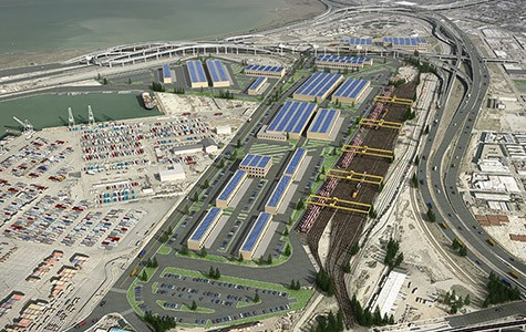 One developer wants to start coal shipping terminal at the former Army Base at the Port of Oakland.