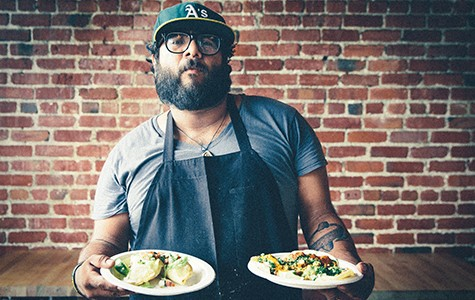 Raul Medina's vegan taqueria pops up at The Butcher's Son on Wednesday nights.