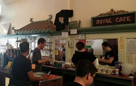 Mama's Royal has been open since 1974.