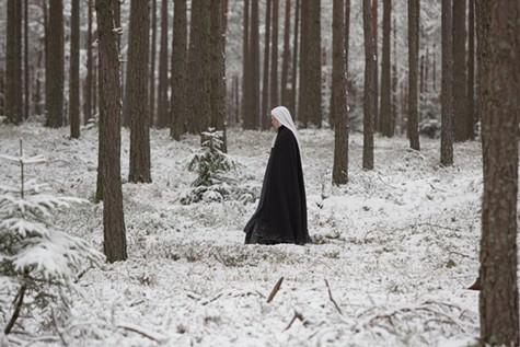 Agata Buzek in The Innocents.