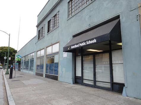 Toxic chemicals were recently discovered in air samples inside 301 12th Street, formerly an auto repair shop, now an Oakland charter school.