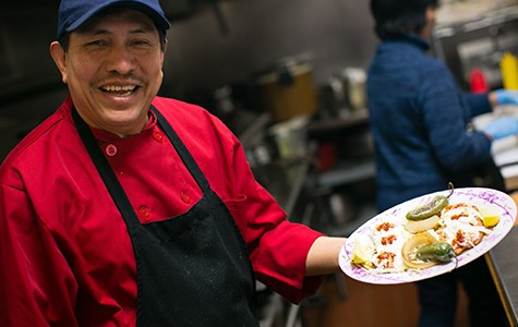 Saigon Deli Sandwich & Taco Valparaiso co-owner Tony Torres.