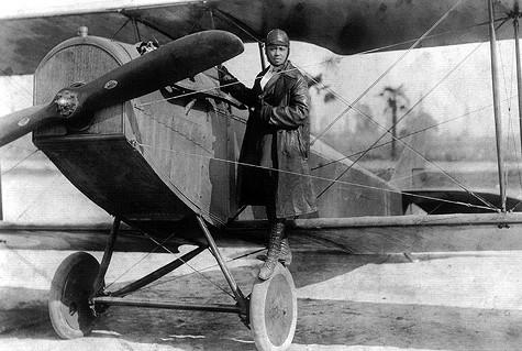Bessie Coleman circa 1922.