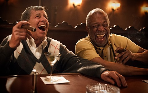 Jerry Lewis (left) and Lee Weaver in Max Rose.