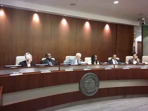 The Richmond City Council last night.
