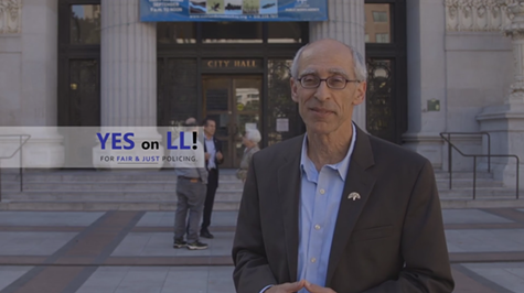 Dan Kalb appeared in a video ad supporting Measure LL.