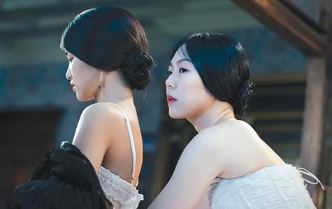 Kim Tae-ri (left) and Kim Min-hee in The Handmaiden.