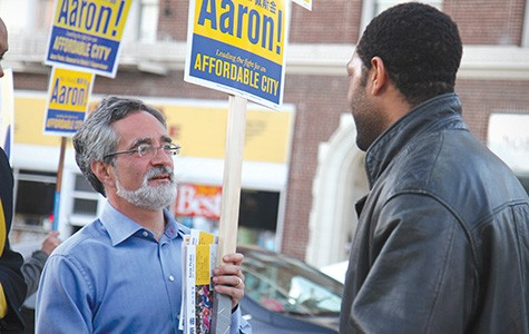 Aaron Peskin (left) in Company Town.