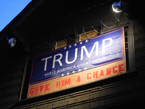 Oakland Landlord Evicts Tenant, Then Hangs Pro-Trump Billboard on Building
