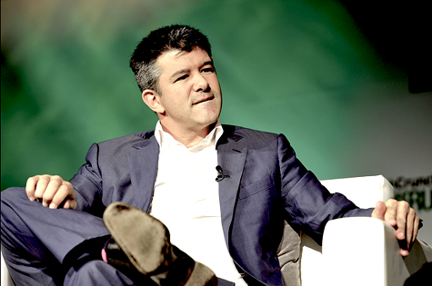 Uber CEO Travic Kalanick.