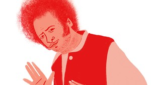Boots Riley. - ILLUSTRATION BY GILLIAN DREHER