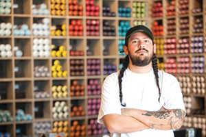 1AM manager Matthew Gregorio will help you master your art craft. - PHOTO BY TOM MORGENSTERN