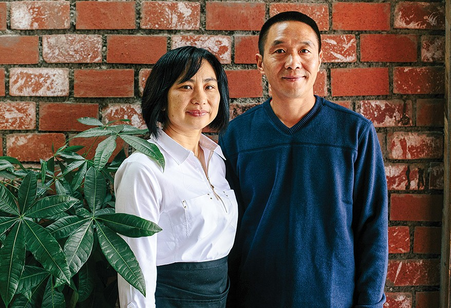 Tammy and Larry Lu opened their first restaurant this summer. - PHOTO BY MELATI CITRAWIREJA