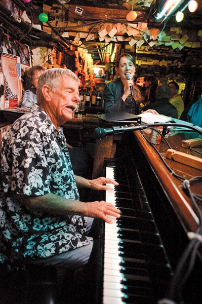 Rod Dibble was The Alley's longstanding cocktail pianist extraordinaire. - EXPRESS FILE PHOTO