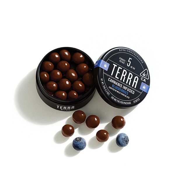 Kiva's microdosed Terra Bites - PHOTO COURTESY OF KIVA CONFECTIONS