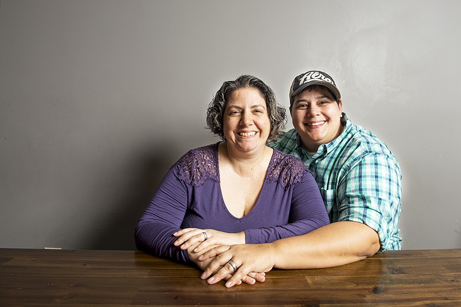 Cali Kamala (left) and Bree Dezort opened Hive, the Place to Bee with the community in mind. - PHOTO BY PAT MAZZERA