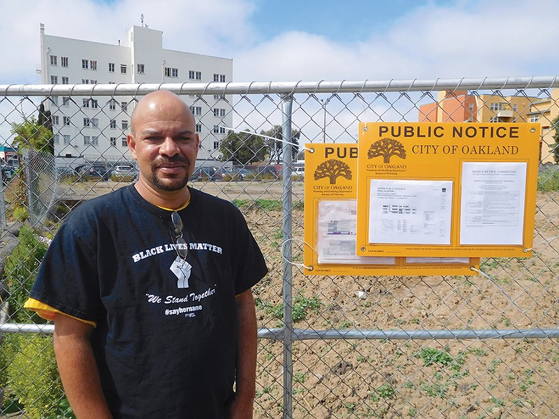 Education activist Mike Hutchinson said he thinks the charter school will undermine nearby district-run public schools. - PHOTO BY DARWIN BONDGRAHAM