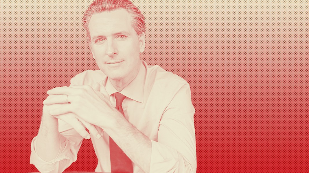 Gavin Newsom has made it clear that he hopes to square off against a GOP gubernatorial candidate in November. - COURTESY PHOTO