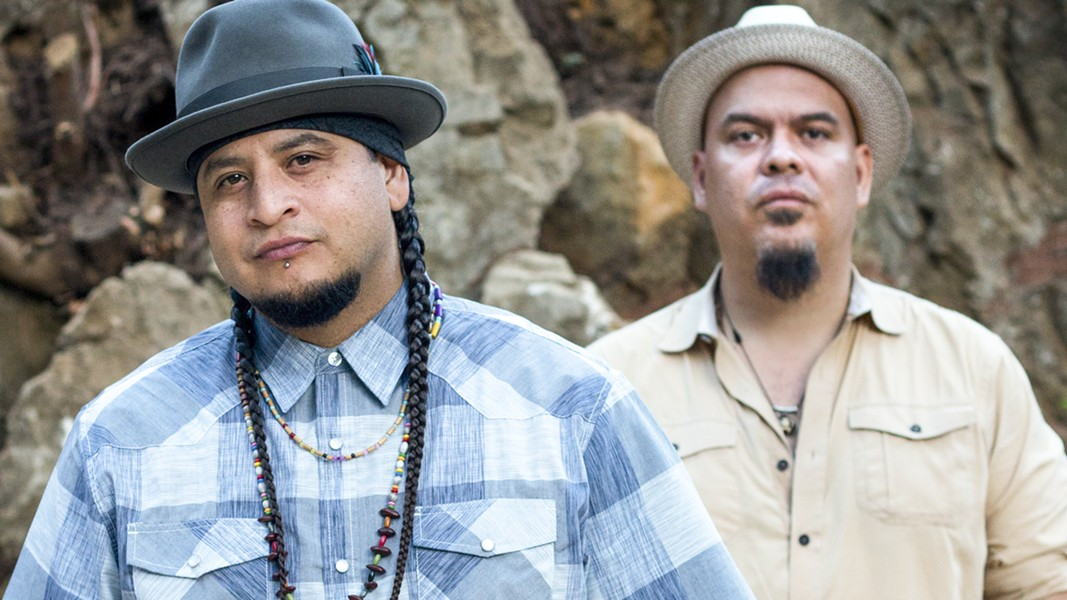 Photo courtesy of Kala Moreno Parra - OAKLAND DUO BANG DATA RELEASED A NEW RECORD IN FEBRUARY.